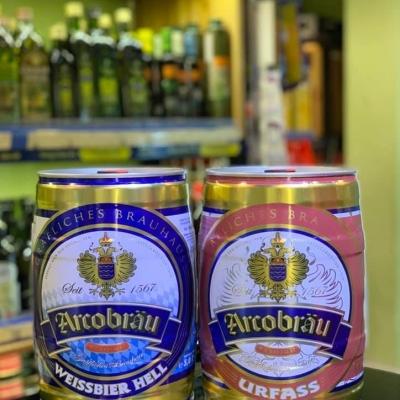 Bom bia Arcobrau 5L đỏ