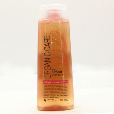 Organic care Dầu gội ngăn ngừa tóc hư tổn và gãy rụng  400ml