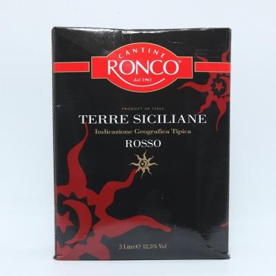 Rượu vang bịch Rosso Sicillia 3L