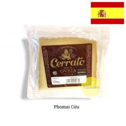 Phomai Cerrato từ sữa tiệt trùng cừu