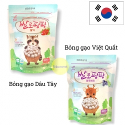 Bỏng gạo hữu cơ Rice Pang Pang